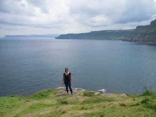 Au pair en Irlande paysage