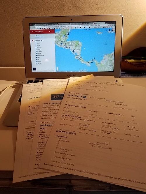 road-trip de Clément, Road-trip de Clément en Amérique Latine : les préparatifs