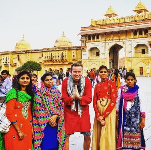 stage à l'étranger, 21 ans, 50 pays visités, deux ans d'aventure
