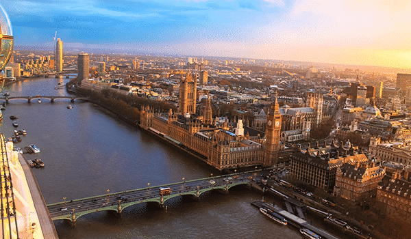 Panoramas à Londres
