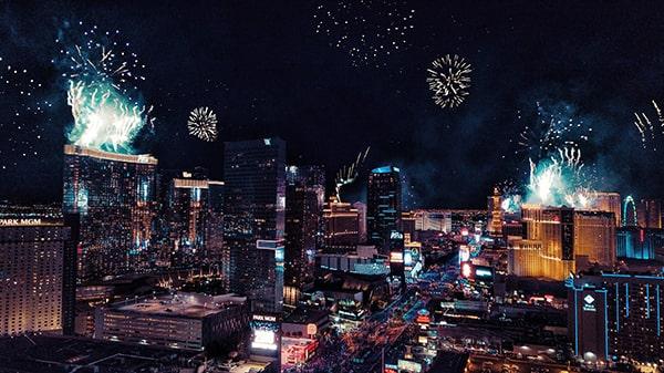 Comment passer le Nouvel An à Las Vegas ?