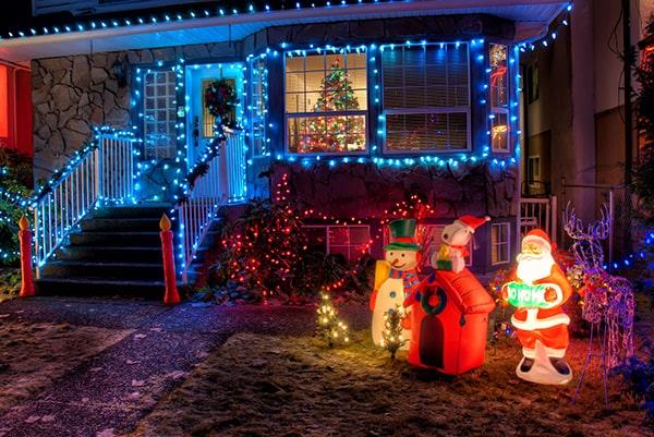 Comment décorer sa maison à Noël aux Etats Unis ?