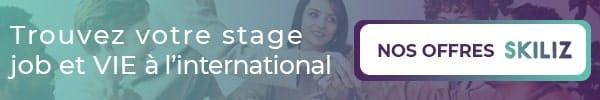 Trouvez votre expérience professionnelle à l'international avec Skiliz