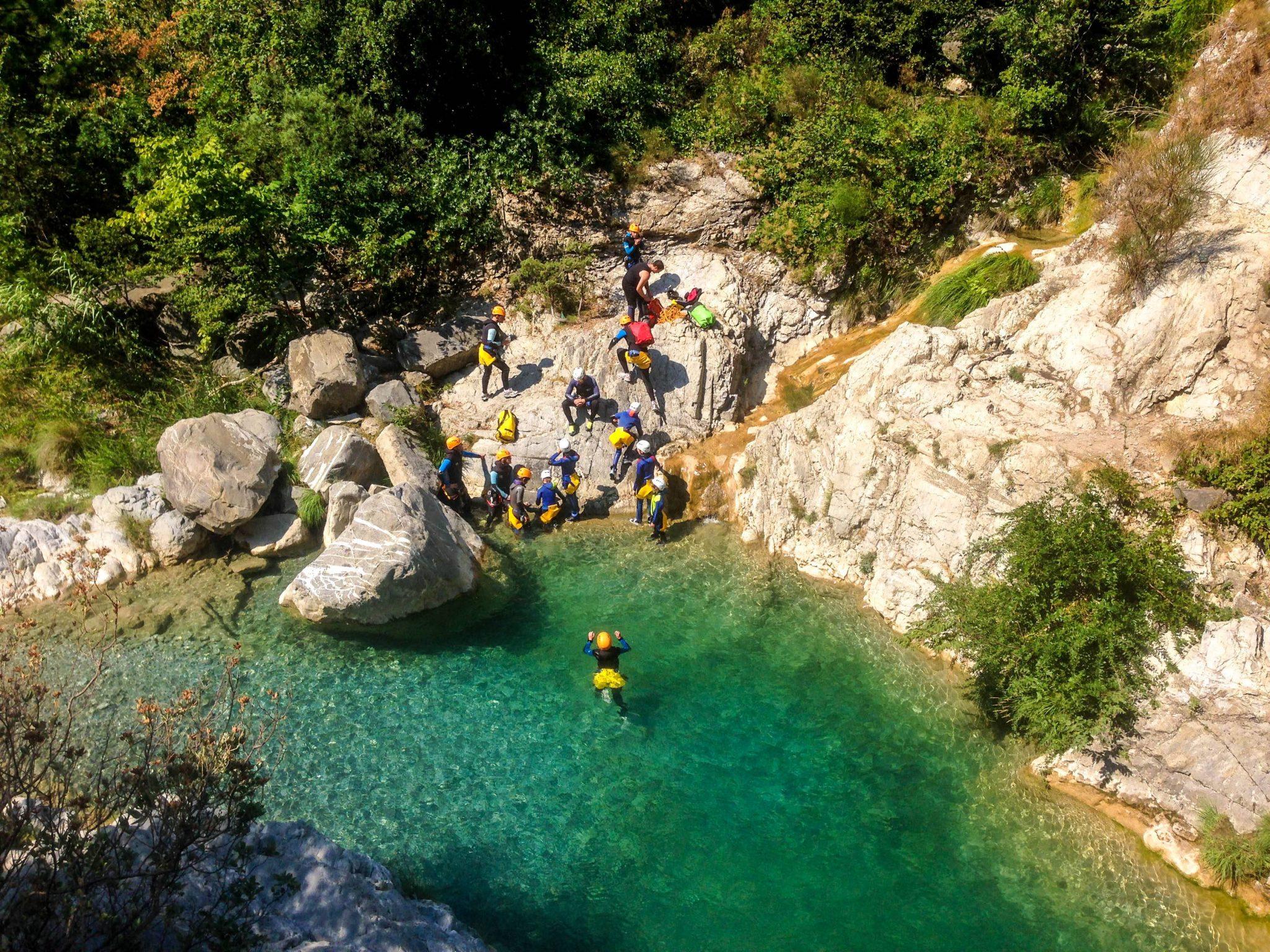 canyoning, Où faire du canyoning dans la région de Nice ?